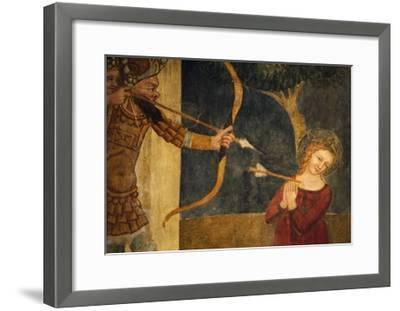 Martyrdom of St Ursula-Ainardo Da Vigo-Framed Giclee Print