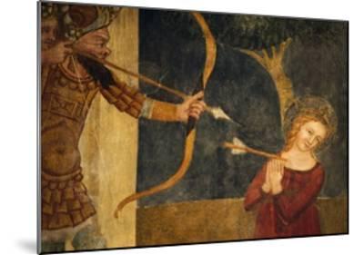 Martyrdom of St Ursula-Ainardo Da Vigo-Mounted Giclee Print