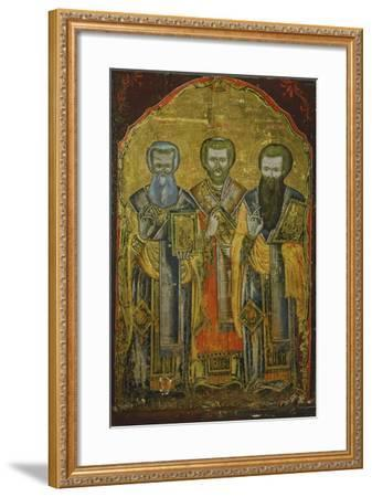 Three Cappadocian Fathers: St Gregory of Nazianzus--Framed Giclee Print