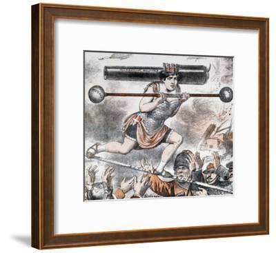 Tightrope Walker--Framed Giclee Print