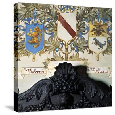 Family Coat-Of-Arms--Stretched Canvas Print