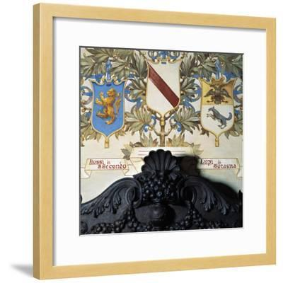 Family Coat-Of-Arms--Framed Giclee Print