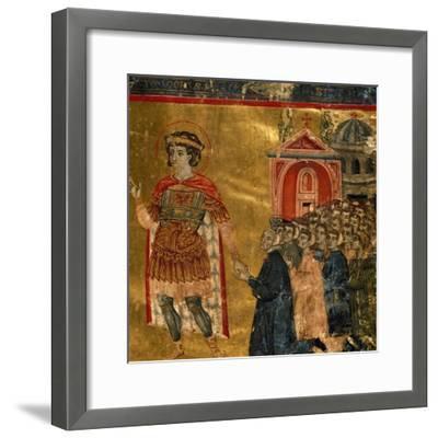 Homage to San Teodoro--Framed Giclee Print