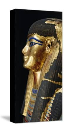 Kingdom of Amenhotep Iii. Burial Mask of Tuya Made of Plastered Cloth--Stretched Canvas Print