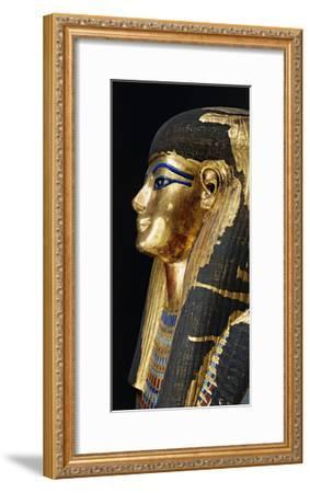 Kingdom of Amenhotep Iii. Burial Mask of Tuya Made of Plastered Cloth--Framed Giclee Print