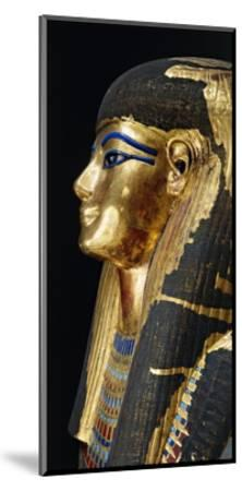 Kingdom of Amenhotep Iii. Burial Mask of Tuya Made of Plastered Cloth--Mounted Giclee Print