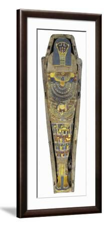 Digital Reconstruction of Mummy of Middle Class Person--Framed Giclee Print