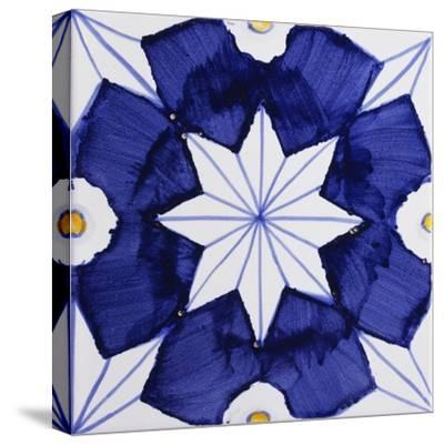 Tile with Geometric Patterns for Houses of Nobles--Stretched Canvas Print