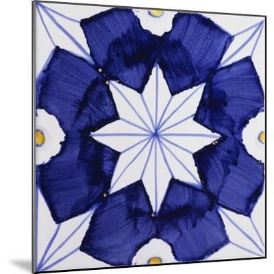 Tile with Geometric Patterns for Houses of Nobles--Mounted Giclee Print