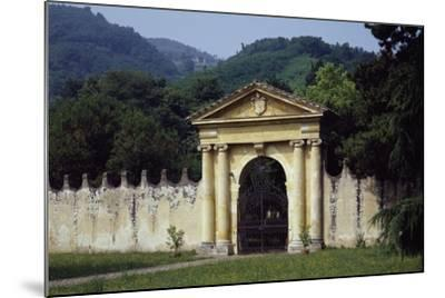 View from Park's Main Entrance with Dedication to Alvise Pisani--Mounted Giclee Print