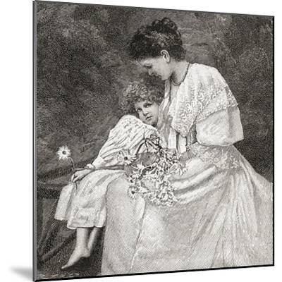 Mary Drew--Mounted Giclee Print