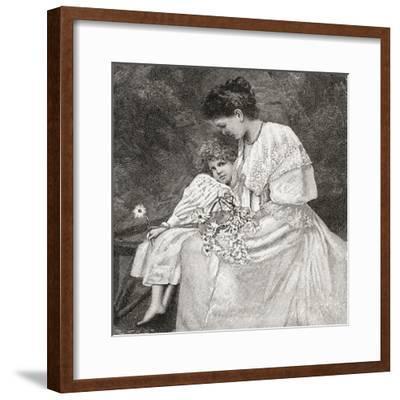 Mary Drew--Framed Giclee Print