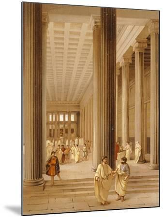 Reproduction of the Interior of the Basilica-Fausto and Felice Niccolini-Mounted Giclee Print