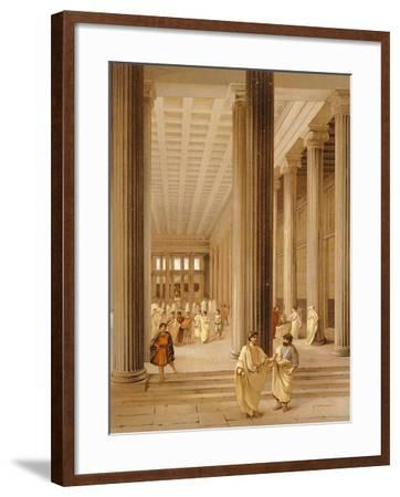 Reproduction of the Interior of the Basilica-Fausto and Felice Niccolini-Framed Giclee Print