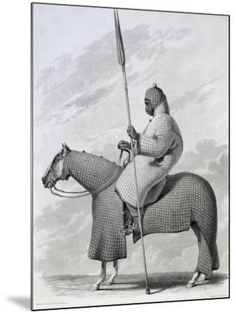 Lancer of Sultan of Begharmi by Finden-Dixon Denham-Mounted Giclee Print