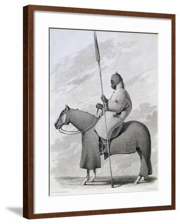 Lancer of Sultan of Begharmi by Finden-Dixon Denham-Framed Giclee Print