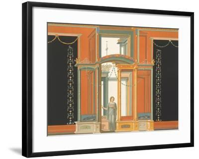 Reproduction of a Fresco from a Wall of the Pantheon-Fausto and Felice Niccolini-Framed Giclee Print