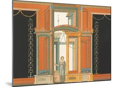 Reproduction of a Fresco from a Wall of the Pantheon-Fausto and Felice Niccolini-Mounted Giclee Print