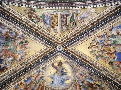 Frescoed Vault-Giovanni Da Fiesole-Stretched Canvas Print