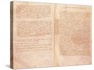 Treaty of Lodi--Stretched Canvas Print