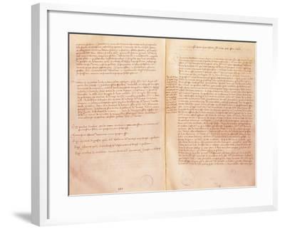 Treaty of Lodi--Framed Giclee Print