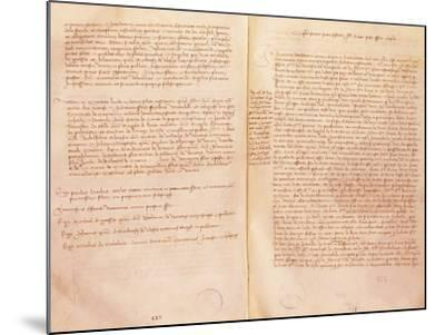 Treaty of Lodi--Mounted Giclee Print