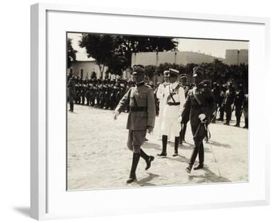 General Joseph Malladra--Framed Giclee Print