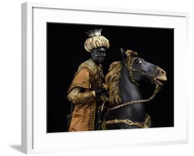 Moorish King on Horseback--Framed Giclee Print