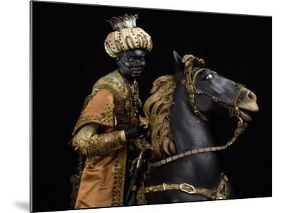 Moorish King on Horseback--Mounted Giclee Print