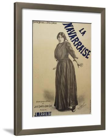 Poster for Navarraise--Framed Giclee Print