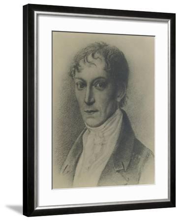 Germany, Bayreuth, Portrait of German Composer--Framed Giclee Print