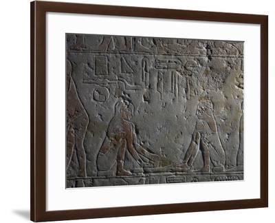 Preparation of Papyri--Framed Giclee Print