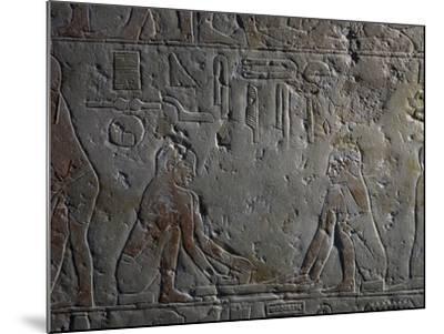 Preparation of Papyri--Mounted Giclee Print