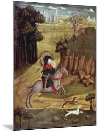 St Eustachio and Deer--Mounted Giclee Print