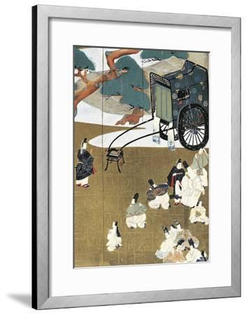 Genji Monogatari--Framed Giclee Print