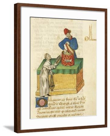 The Thyme Seller--Framed Giclee Print