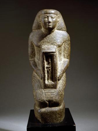 Naoforo with the God Osiris--Framed Giclee Print