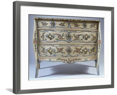 Louis XV-XVI Transition Period Commode--Framed Giclee Print