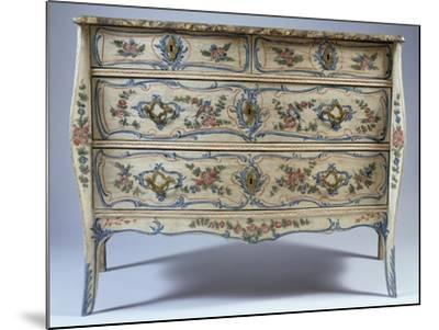 Louis XV-XVI Transition Period Commode--Mounted Giclee Print