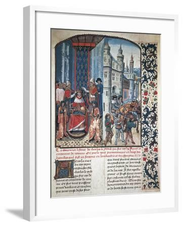 The Coronation of Charlemagne--Framed Giclee Print