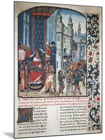 The Coronation of Charlemagne--Mounted Giclee Print