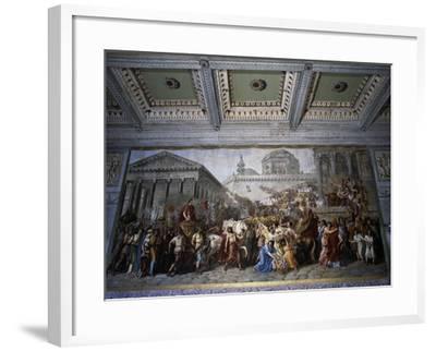 Stories of Emperor Trajan--Framed Giclee Print