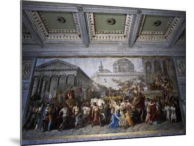 Stories of Emperor Trajan--Mounted Giclee Print