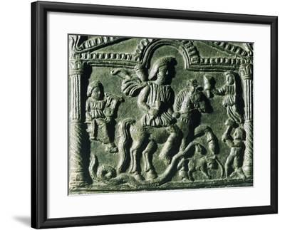Thracian Knight Wearing a Cap--Framed Giclee Print