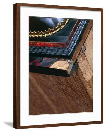 Travelling Cabinet in Spruce and Oak--Framed Giclee Print
