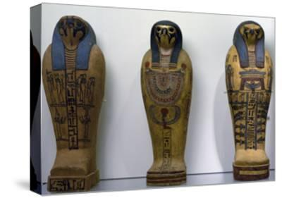 Pseudo Sarcophagus of Osiris--Stretched Canvas Print