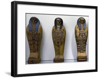 Pseudo Sarcophagus of Osiris--Framed Giclee Print