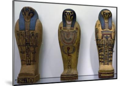 Pseudo Sarcophagus of Osiris--Mounted Giclee Print