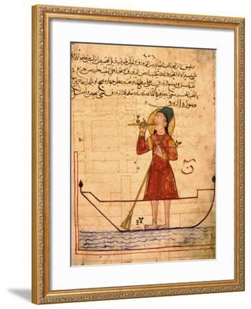 Miniature Depicting an Automaton Device--Framed Giclee Print