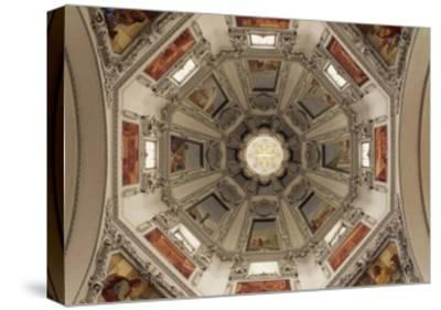 Dome with Scenes from Old Testament--Stretched Canvas Print